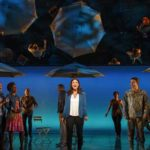Idina Menzel and the cast of If/Then. Photo: Joan Marcus