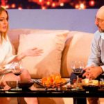 Lindsay Lohan and Richard Schiff in Speed-The-Plow