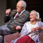 John Lithgow and Glenn Close in A Delicate Balance at the John Golden Theatre