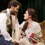 Matthew Morrison from Glee and Laura Michelle Kelly in Finding Neverland on Broadway