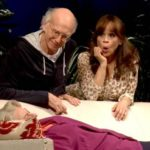 Larry David and Rosie Perez in Fish In The Dark by Larry David