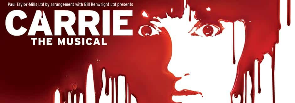 Carrie the musical at the Southwark Playhouse