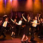 The cast of You Won't Succeed On Broadway If You Don't Have Any Jews. Photo: Pamela Raith