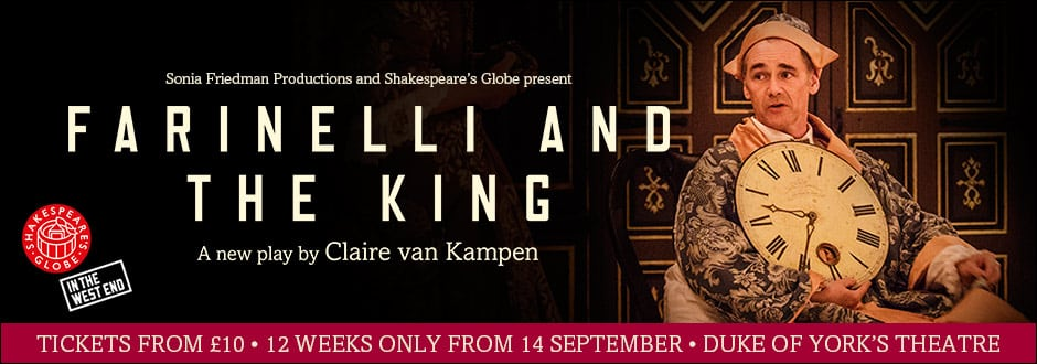 Farinelli And The King at Duke Of York's Theatre